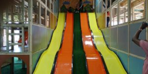Play Day Cafe Mega Slides for kids